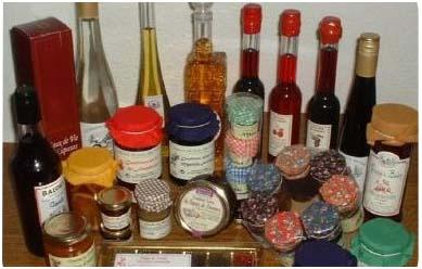 Domaine de Baudry -150 variétés de confitures